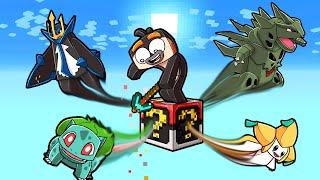 1v3 Pixelmon LUCKY BLOCK Challenge! (Minecraft Pokemon)
