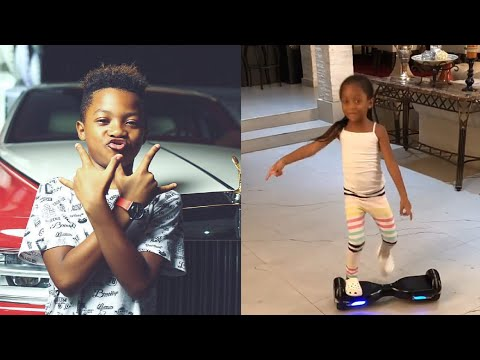 Peter Psquare Kids In Dancing Competition - Best Dancer?