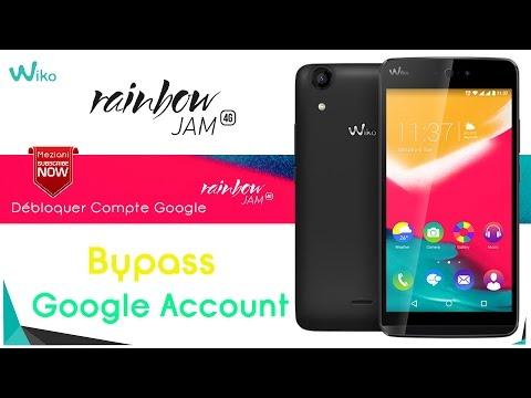 Bypass Google Account Wiko RAINBOW JAM 4G Remove FRP | meziani