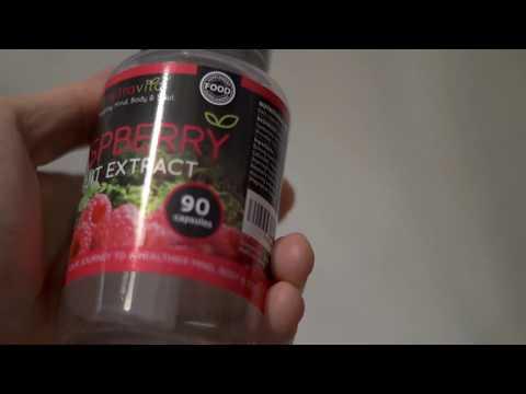 Nutravita Wild Raspberry Ketones Fruit Extract Supplements: Review