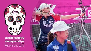 Mackenzie Brown v Tan Ya-Ting – Recurve Women Bronze final | Mexico City 2017