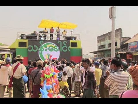 Video- National Census Bus Tour kicks-off on 3 week tour of Myanmar