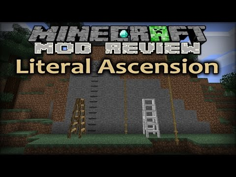Minecraft Mod Review - Ep225 - Literal Ascension Mod