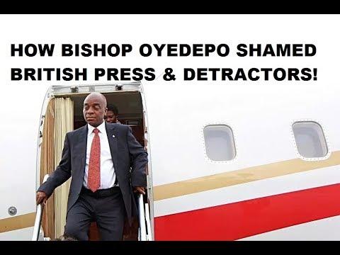 Bishop David Oyedepo Shamed British Press & Detractors!