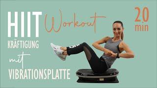 HIIT WORKOUT mit Vibrationsplatte / steigere die Intensität für dein Training