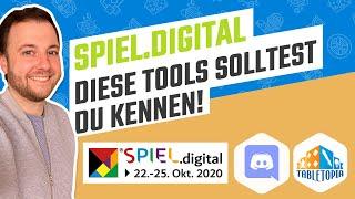 SPIEL.digital - So funktionieren Discord und Tabletopia   Diese Tools brauchst du
