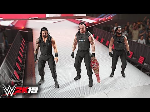 WWE 2K19 Custom Story - The Undertaker Joins The Shield Raw 2019 ft. The Club, Reigns