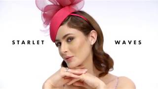 Hair Styles For Fascinators | The Starlet Wave | Karen Millen X Blow LTD