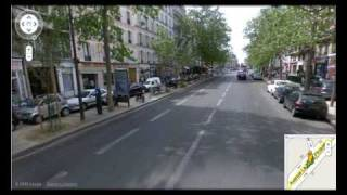 preview picture of video '2009: A Google trip through Paris'