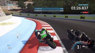 Ride-online race EPIC BATTLE at portero W/poulpox