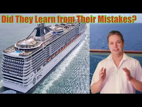 MSC Divina cruise ship review :  MSC cruise line
