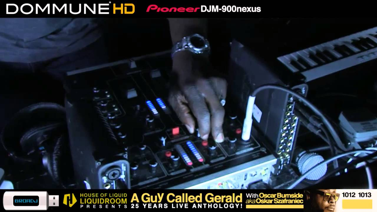 A Guy Called Gerald - Live @ Dommune 2013