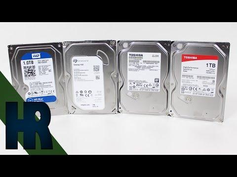 Die beste Festplatte? Festplatten Test & Review   Seagate Toshiba Western Digital