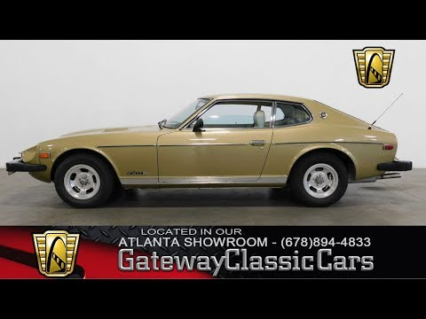 Video of 1978 Datsun 280Z located in Alpharetta Georgia - $10,995.00 Offered by Gateway Classic Cars - Atlanta - LEU2