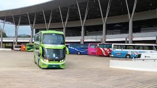 SCANIA bus Malaysia K124 EB 6x2 420 LI SKSbus E128d