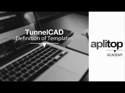 Tcp TunnelCAD-2 Definition of Templates