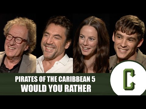 Pirates of the Caribbean 5 Cast Plays Would You Rather