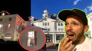 24 HOURS OVERNIGHT IN HAUNTED HOTEL!! (The Stanley Room 217)
