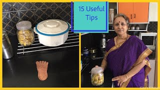 15 Useful Tips For Home & Kitchen !