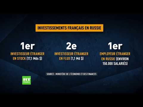 Les relations économiques entre la France et la Russie se maintiennent à un bon niveau