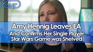 Amy Hennig Leaves EA, Confirms Her Single Player Star Wars Game Was Shelved