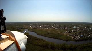 preview picture of video 'Bixler Flight #28 (aerial view on Utva river and Pugachevo village)'