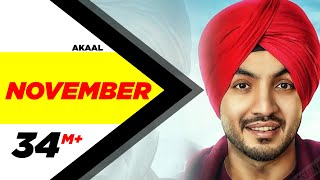 November (Full Song) | Akaal | Parmish Verma | Bittu Cheema | Latest Punjabi Song 2016