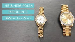 Gorgeous His & Hers Rolex Presidents