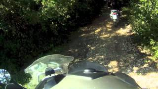 preview picture of video 'Trailer Bikers On Trip  Off Road 2012'