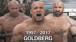 WWE 2K17: The Evolution of Goldberg (1997 - 2017)