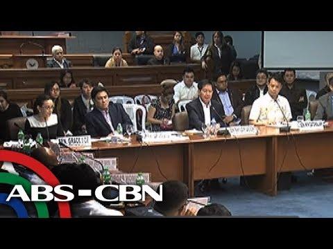 Bandila: Mga senador, napikon sa mga miyembro ng Aegis Jvris