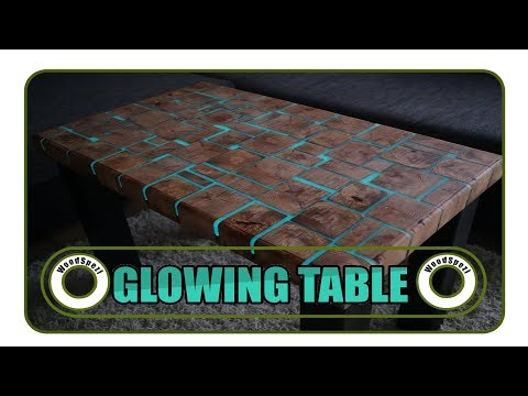 Glowing Table - Leuchtender Tisch DIY