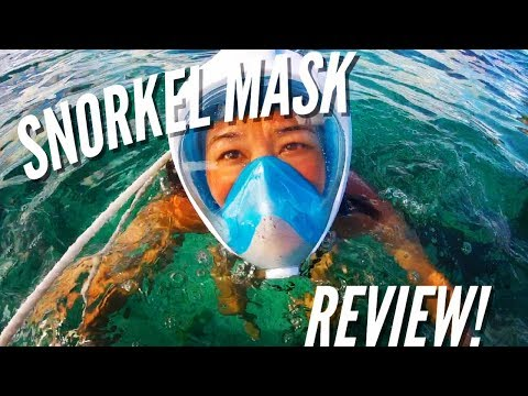 Full Face Snorkel Mask Comprehensive Review! Seaview 180 X-Lounger