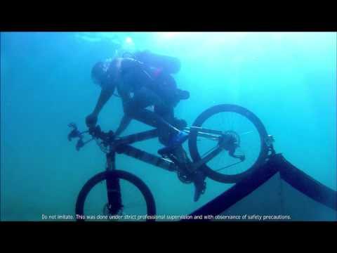 How to bike underwater
