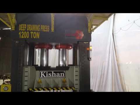 Heavy Duty Deep Draw Hydraulic Press