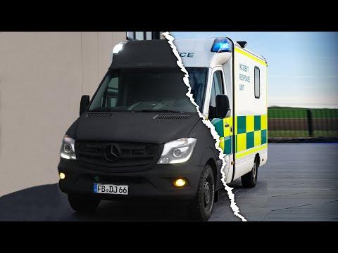 Neues Design 😍  Raptor Lack statt Folie! Vom Mercedes Sprinter #krankenwagen 🚑 zum DIY Campervan