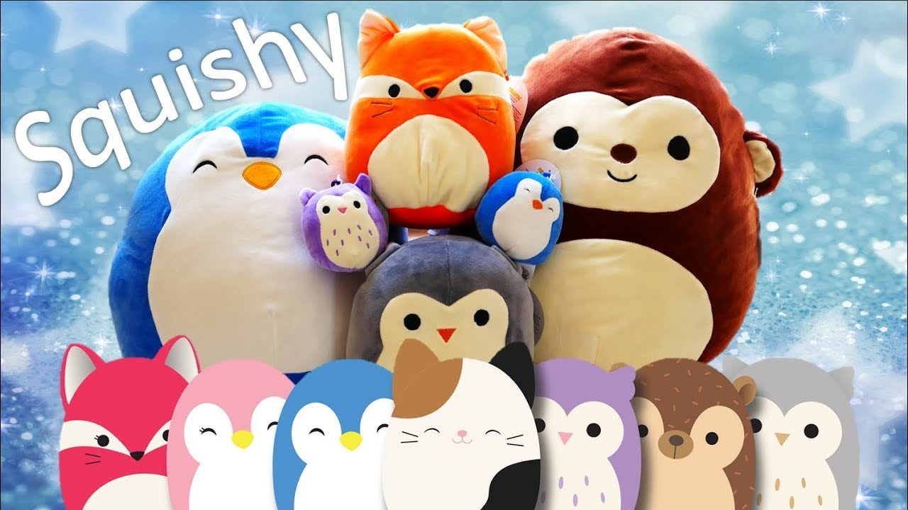 Squishmallows Collection - Squishy and Soft Plush Animals Review