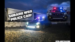 Subaru WRX | Police Lights
