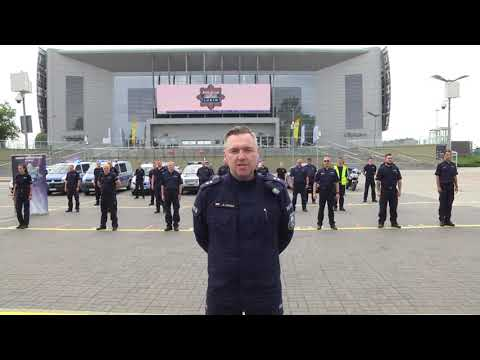 Wideo: #GaszynChalleng Policja Lubin