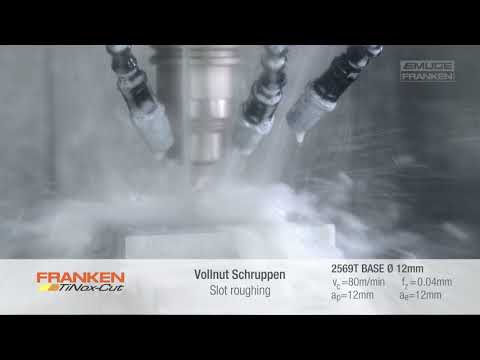 FRANKEN TiNox-Cut Base - For universal use in stainless steels