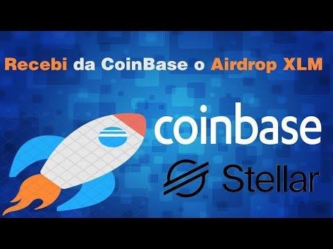 Coinbase - Airdrop XLM (Stellar) está sendo pago,veja como ganhar até 50 dolares