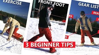 #39 Snowboard begginer – First day snowboarding tips
