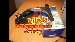 Vileda Windomatic Power Fenstersauger Unboxing - Teil 1