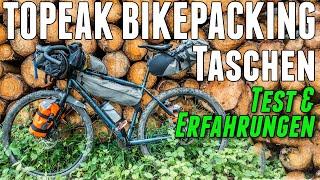 Topeak Bikepacking Taschen Test - Frontloader, Backloader, Midloader, Toploader, Versacage