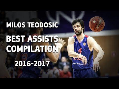 Milos Teodosic Best Assists Compilation 2016-2017