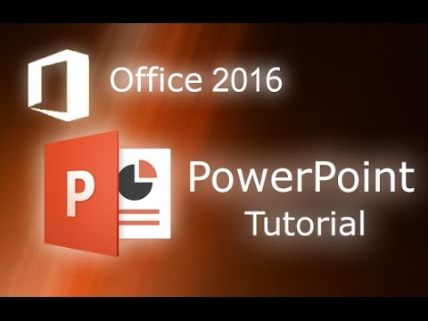 Microsoft PowerPoint 2016 – Full Tutorial for Beginners [ 14 MINUTES! ]*