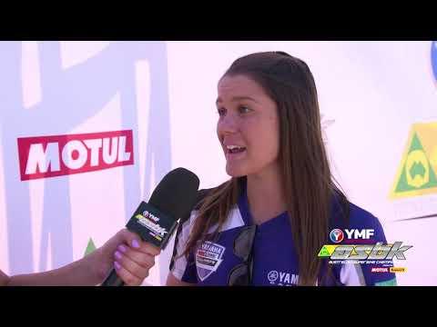 ASBK Interviews Jess Gardiner