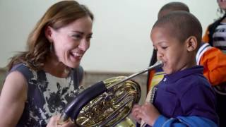 Sarah Willis and the Bronx Junior Horn Challenge