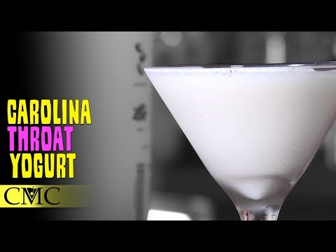 How To Make The Carolina Throat Yogurt Cocktail | Recipe Building 101
