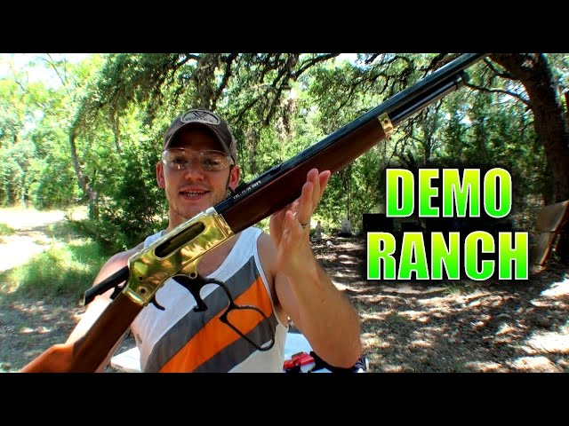 DemolitionRanch Tries Out the Brass .45-70